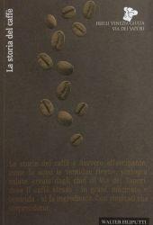 Fotografia della copertina del libro La storia del caffè scritto da Walter Filiputti