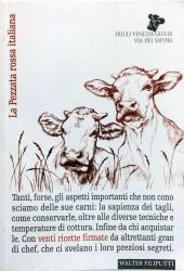 Fotografia della copertina del libro La Pezzata rossa italiana scritto da Walter Filiputti
